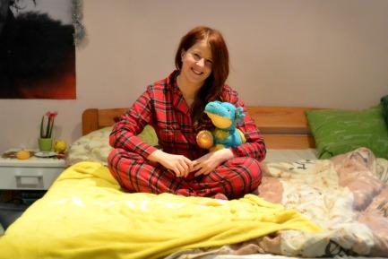 Susani kingitud pidžaamas magama minnes, algab 2015.aasta kindlasti imeliselt! Kena vana aasta lõppu!